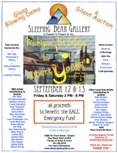 Glass Blowing & Silent Auction 2014