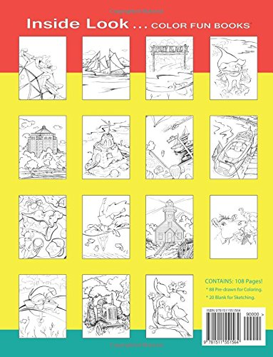 Traverse City Coloring Book